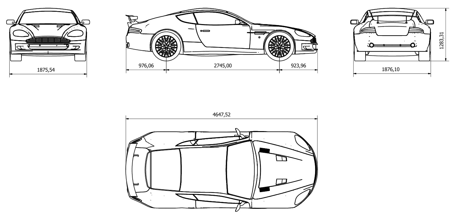 db9 dimensions pictures to pin on pinterest