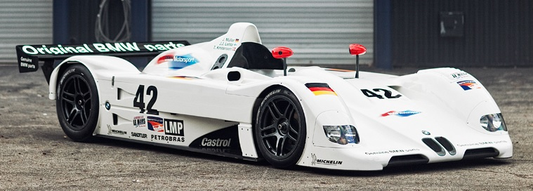 bmw v12 lmr group lmp  1999