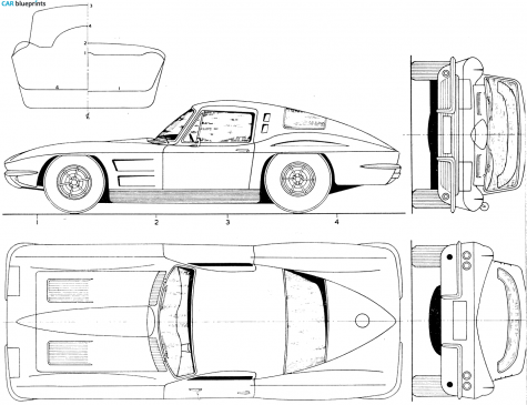 Magnaflow Sport Auspuffanlage Chevy Corvette C3 V8 57 112242779280 also AJ877 together with Drawings exploded views besides 1963 Clipart as well Showthread. on 1963 chevrolet corvette grand sport