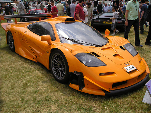 McLaren F1 GT group GT1 (1997) - Racing Cars