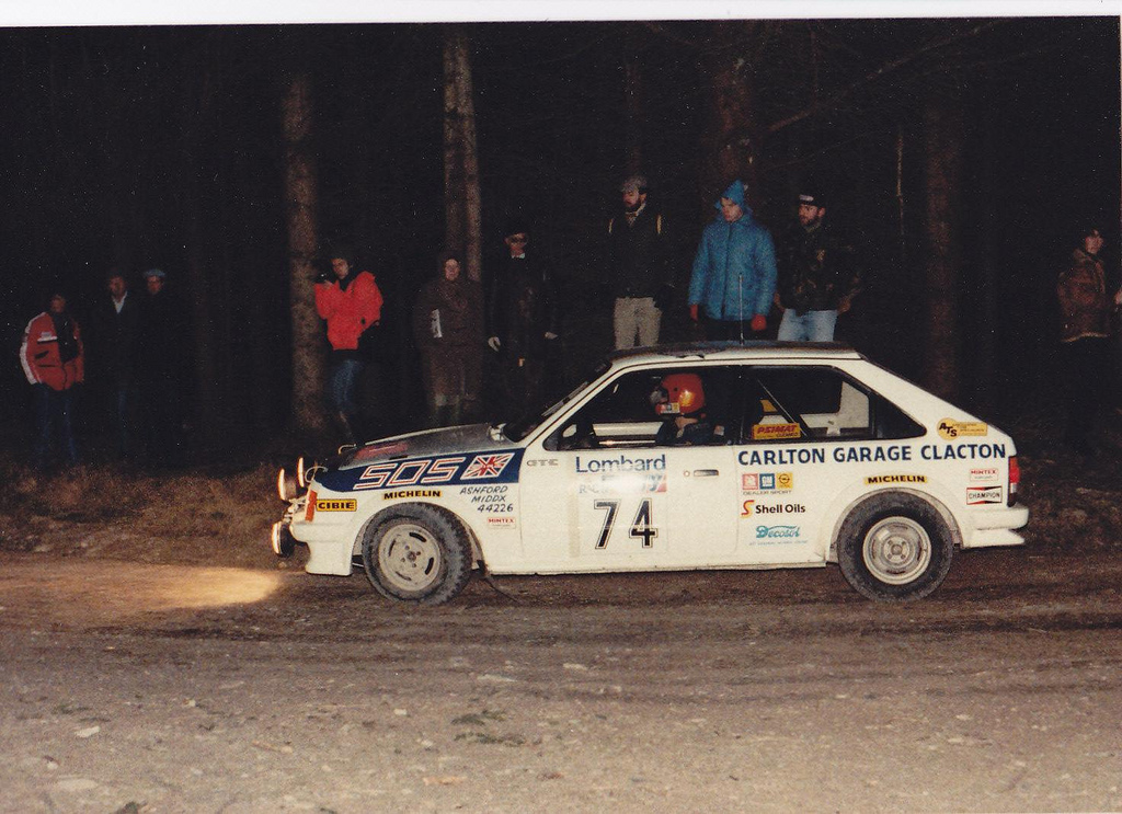 Opel Kadett D Gt E Group A 1983 Racing Cars