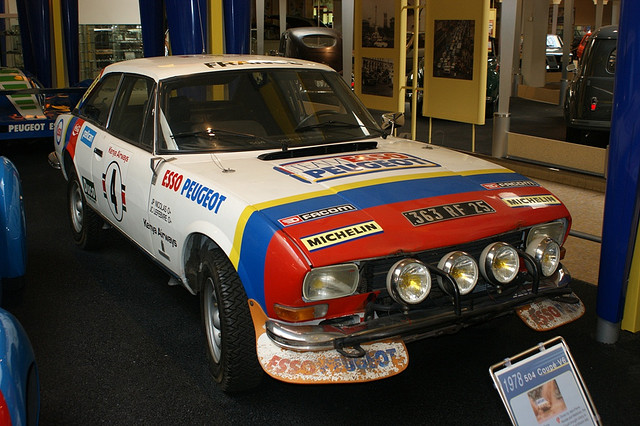 Peugeot 504 Coupe V6 Group 4 1975 Racing Cars