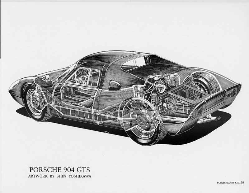 Porsche 904 Gts Group Gt 1964 Racing Cars